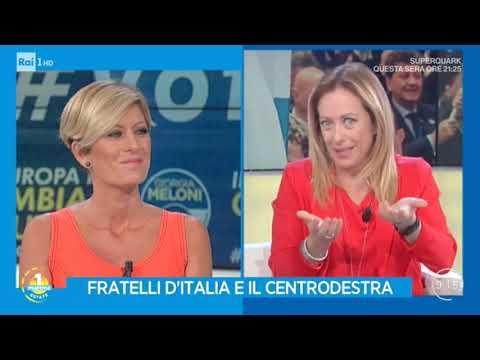 Giorgia Meloni in diretta da Uno Mattina Estate, su Rai1 Buongiorno!
