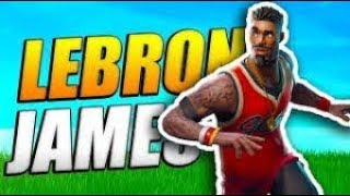 NEW LEBRON JAMES SKIN| TOP FORTNITE PLAYER | Wins: 181 FORTNITE BATTLE ROYALE