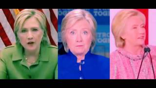 Hillary Clinton's Double | Twin | Clone | Hologram | Organic Robotoid | Synthetic | Droid