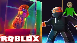 STEALING EVERYTHING FROM BALDI'S SCHOOL!! (Roblox Robbery Simulator)