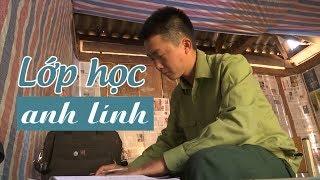 Anh Lính biên phòng đẹp trai cắm bản dạy chữ cho người Mông