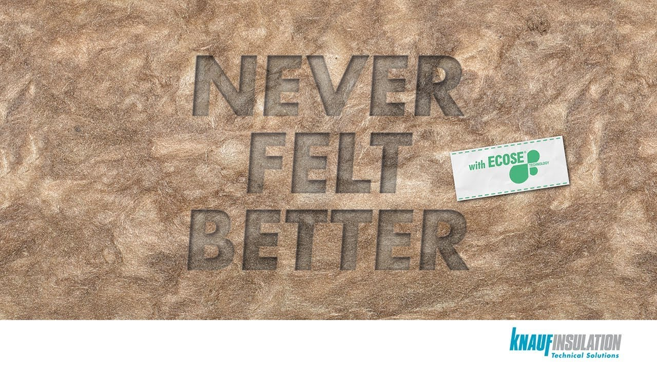 Knauf Insulation TS: Mineral Wool with ECOSE® Technology