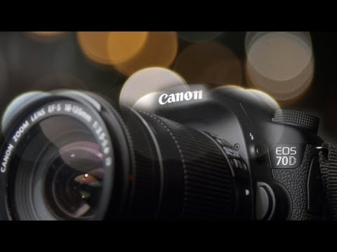 Canon 70D: ISO 1600 Low Light Video