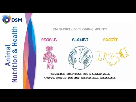 The Approach To Sustainable Animal Production By DSM ANH