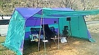 佐賀県の心霊スポットでもある厳木ダムのキャンプ場でソロキャンプをし...