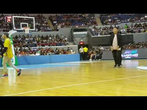 Mico and Gab at Star Magic OPPO All Star Game