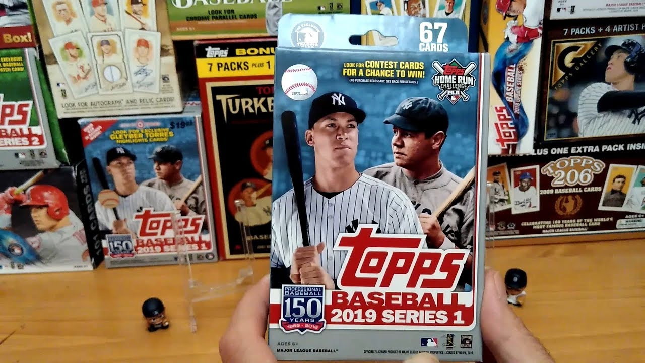 Walgreens 2019 Topps Series One Box Great Trout 2nd Item For Giveaway