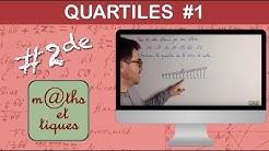 Calculer les quartiles (1) - Seconde