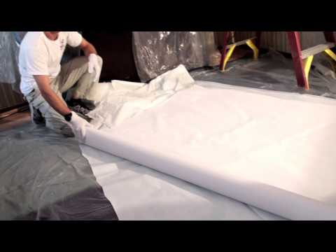 Stretch Ceiling Installation by VIC ceilings LLC