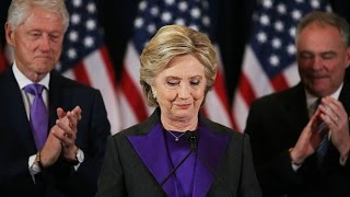 Hillary Clinton's full concession speech