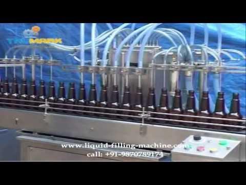 six head pharma liquid filling machine, nitrogen gas filling machine, rotary ropp capping machine