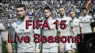 Real Madrid vs Bayern Munich / FIFA 15 Live Seasons Multiplayer Gameplay Commentary!