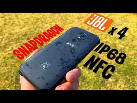 НЕВЕРОЯТНЫЙ ЗАЩИЩЕННЫЙ AGM A9! SNAPDRAGON, JBL х 4 динамика! NFC, IP68 ! Обзор с краш-тестом!