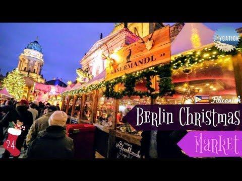 CHRISTMAS EVE AT BERLIN CHRISTMAS MARKET | TRAVEL VLOG🎄🇩🇪