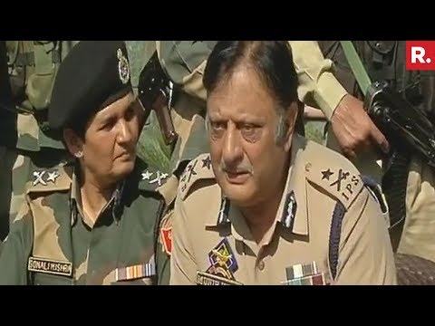J&K Police, CRPF and BSF On BSF Camp's Terrorist Attack