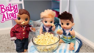 BABY ALIVE Boys Have A Sleep Over baby alive videos