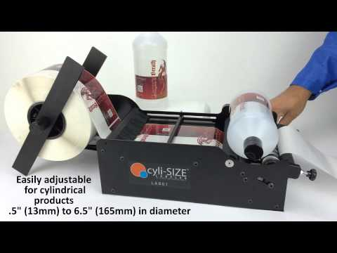 how to build a manual bottle labeler