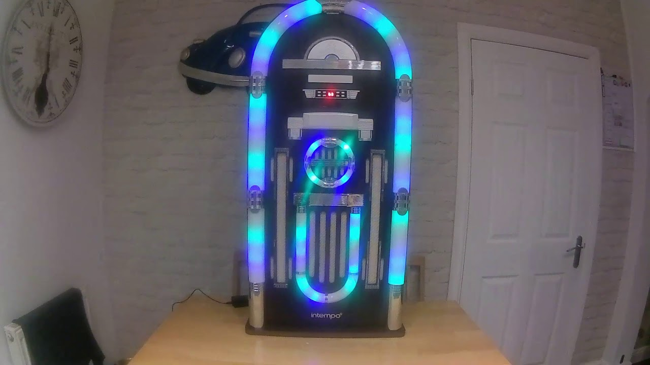Intempo Bluetooth Jukebox sound and light test and demo