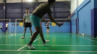 Game 2 Badminton with Kamila