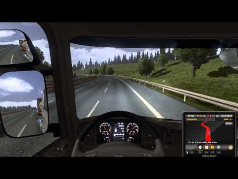 Let's Play Euro Truck Simulator 2 EP 29 Kosice to Rotterdam