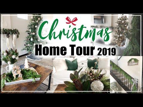 CHRISTMAS HOME TOUR 2019 | Modern Farmhouse Glam Christmas Decor | Momma From Scratch