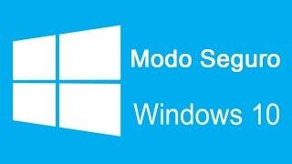 Cómo iniciar Windows 10 en modo seguro. (a prueba de fallos)