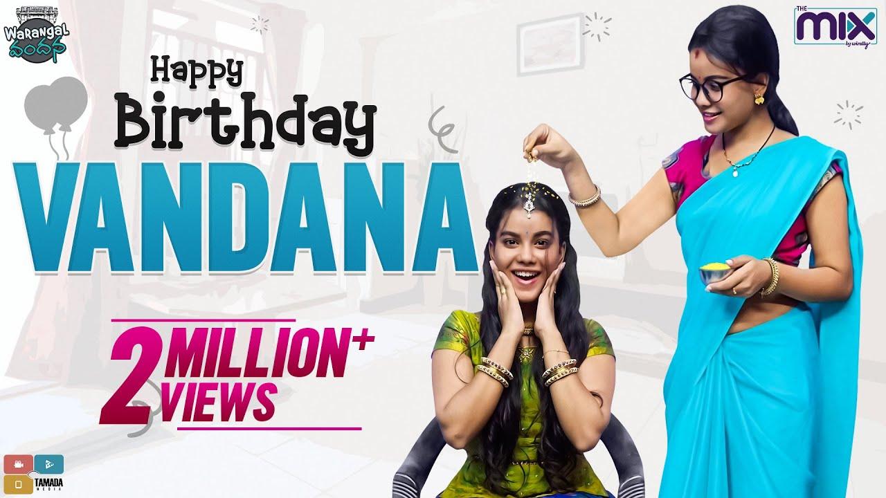Happy Birthday Vandana    EP 41    Warangal Vandhana    The Mix By Wirally    Tamada Media