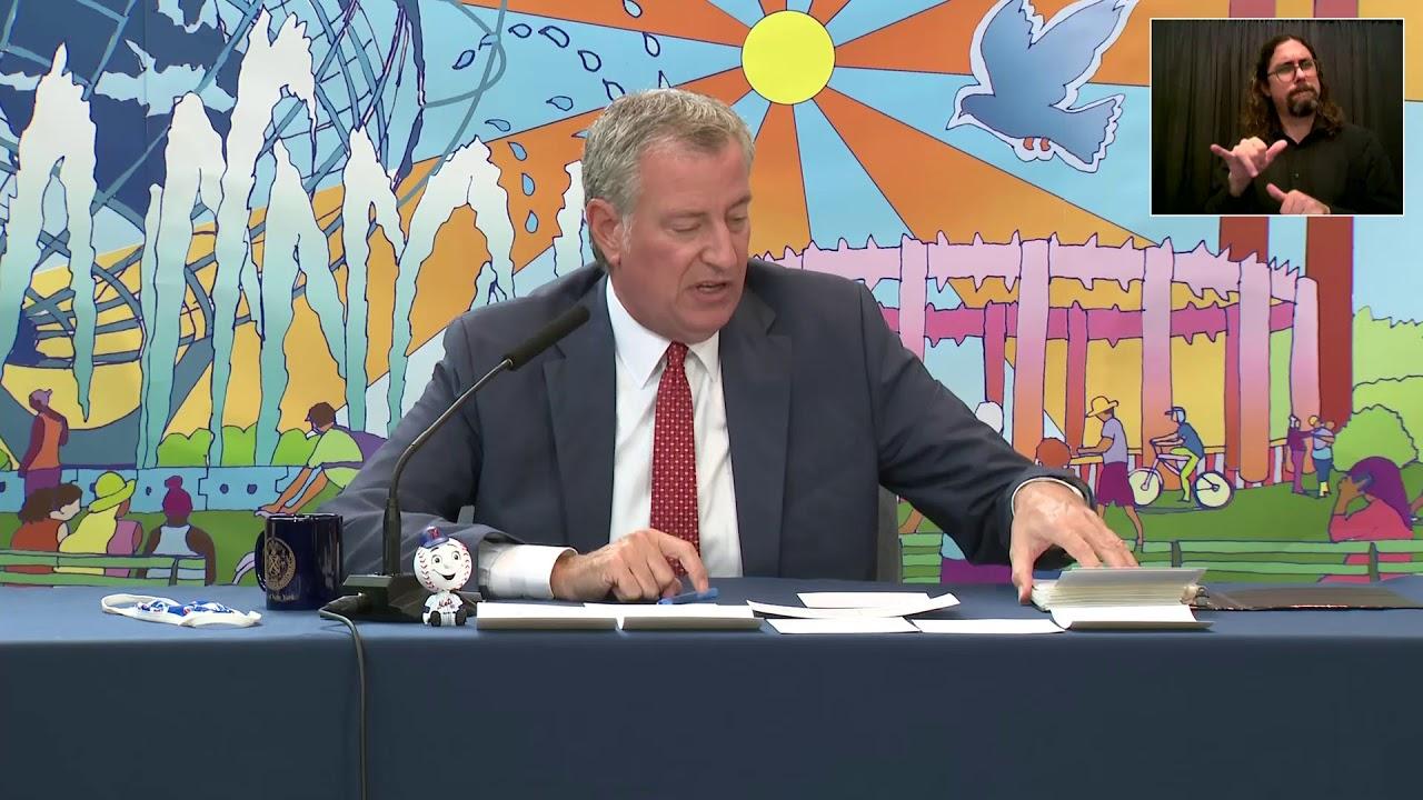 Download Mayor de Blasio Holds Media Availability