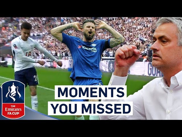 Dele Alli's Dance and Willian Thinks he's a Saints Player! | Moments You Missed | Emirates FA Cup