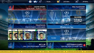 EL MEJOR  DREAM LEAGUE SOCCER 17 UEFA CHAMPIONS LEAGUE