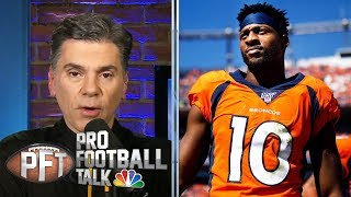 San Francisco 49ers trade for Emmanuel Sanders to add WR depth | Pro Football Talk | NBC Sports