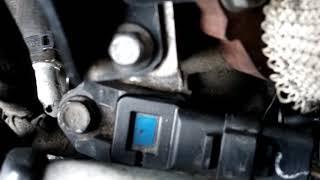 Замена дроссельной заслонки Peugeot 4007 2.2HDI