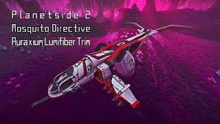 ▲ Mosquito Directive Reward (Auraxium Lumifiber Trim) unlocked in Planetside 2