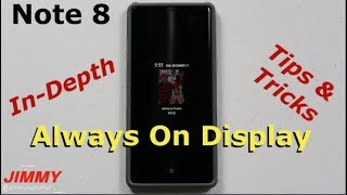 Note 8 - Always On Display In-Depth Tutorial