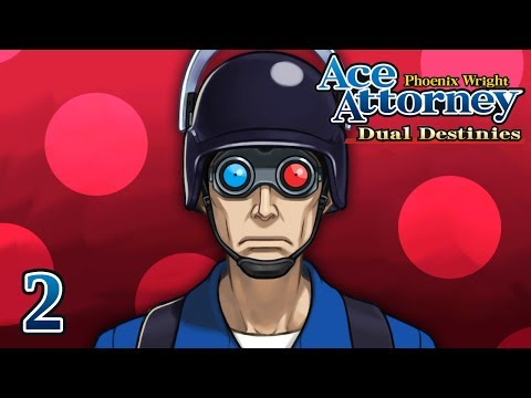 COUNTDOWN - Let's Play - Phoenix Wright: Ace Attorney: Dual Destinies - 2 - Walkthrough Playthrough