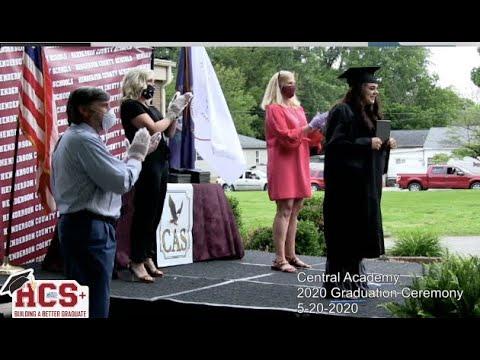 Central Academy 2020 Graduation