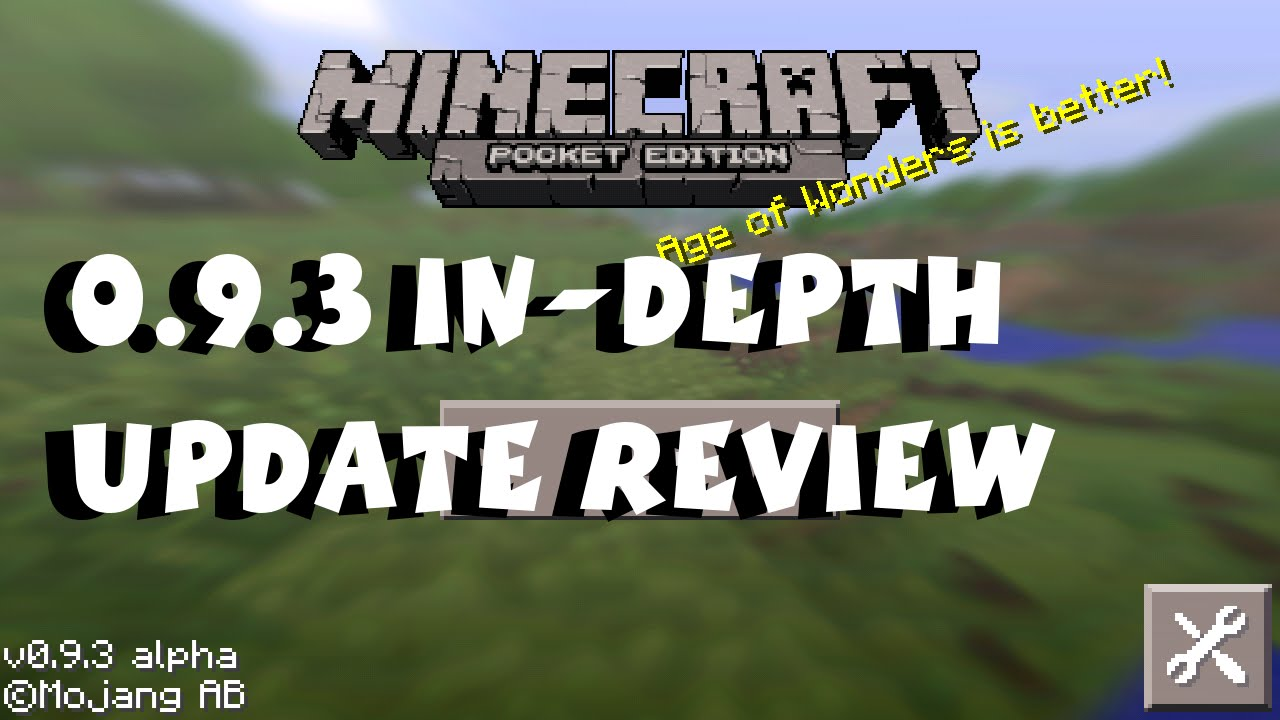 [9.9.9] Minecraft Pocket Edition Update Review iOS / Android / Kindle /  Fire TV