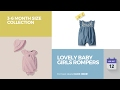 Lovely Baby Girls Rompers 3-6 Month Size Collection