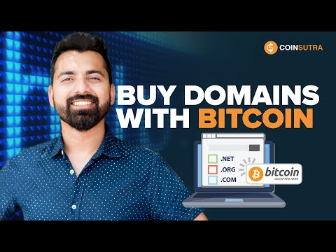How To Buy Cheap Domain Name With Bitcoin (Tutorial)