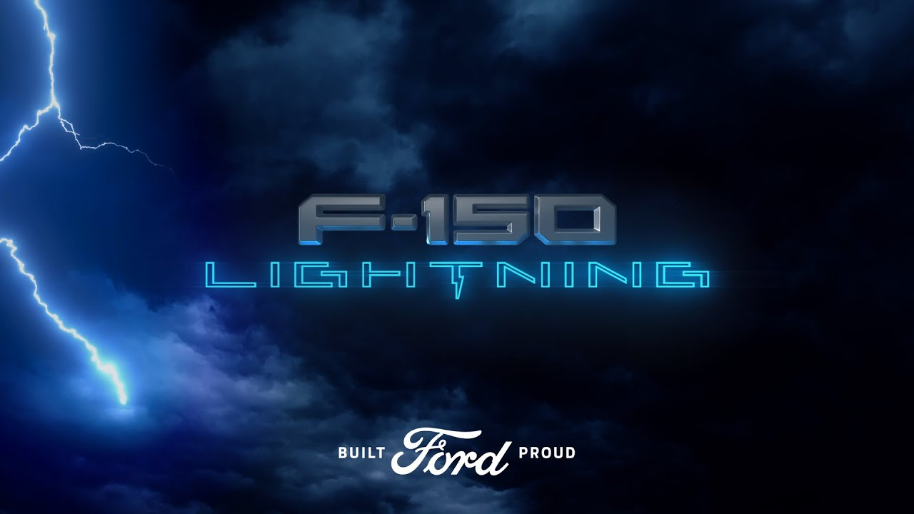 Watch the Reveal of the Ford F-150 Lightning Here
