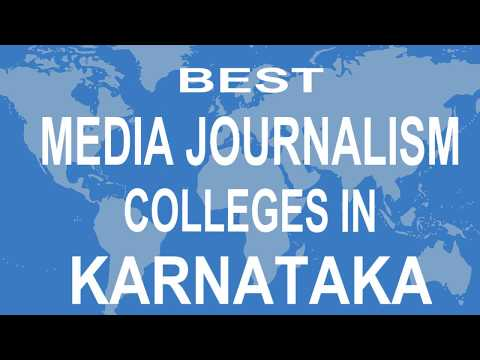 Best Media Journalism Colleges And Courses  In Karnataka