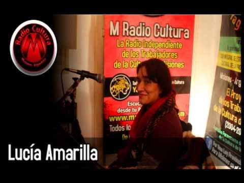 Lucía Amarilla con Ole Brasil en M Radio Cultura