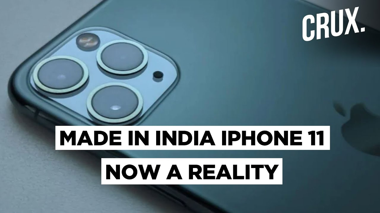 IPhone 11 Now Being Manufactured at Foxconn Plant in India