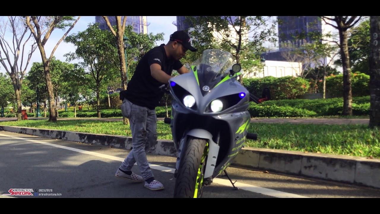 Yamaha R1 Mắt Cú Dọn Style Đón Tết.