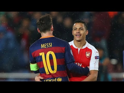 Alexis: This is what Lionel Messi taught me