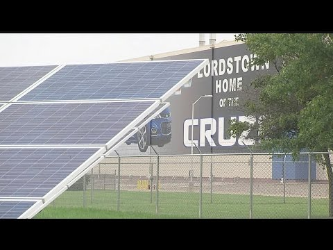 Solar panels a money-saver for General Motors Lordstown Complex