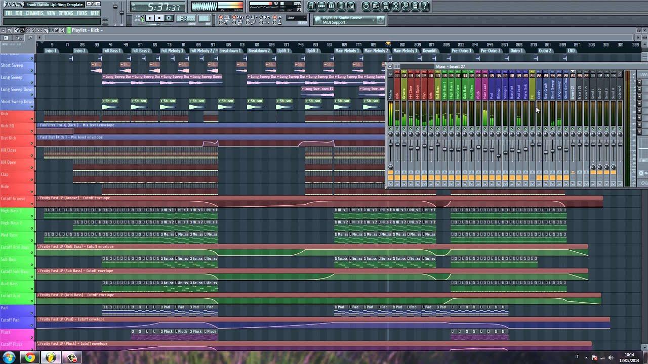 Скачать шаблоны для fl studio 10