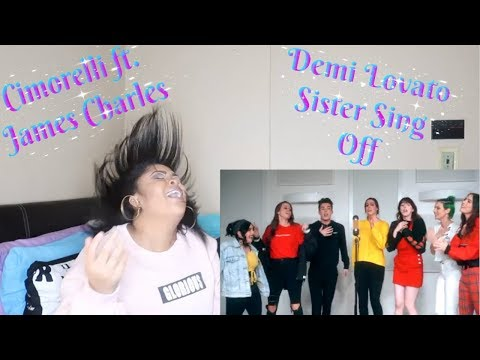 Demi Lovato Medley ftJames Charles Sister Sing Off Reaction NOSTALGIA AT ITS FINEST🤩🔥