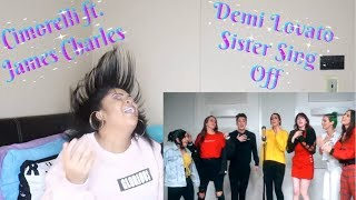 """Demi Lovato Medley ft.James Charles """"Sister Sing Off"""" Reaction (NOSTALGIA AT IT'S FINEST🤩🔥)"""