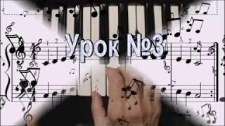 Учимся играть двумя руками на пианино